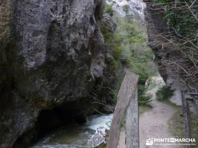 Salto del Nervión - Salinas de Añana - Parque Natural de Valderejo;mapa pedriza senderismo en la p